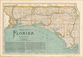 Best map of florida panhandle Reviews