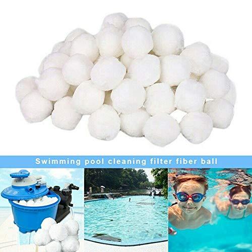 7thLake Filterbälle Pool-Filterkugeln,Reinigungsbälle für Schwimmbäder,Spezielle Filterkugeln aus feinen Fasern (700g)