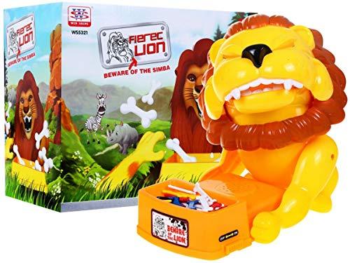 HUKITECH woedend leeuw spel behendigheidsspel actiefspel gezelschapsspel dog reflex game - familiespel met hoge plezierfactor