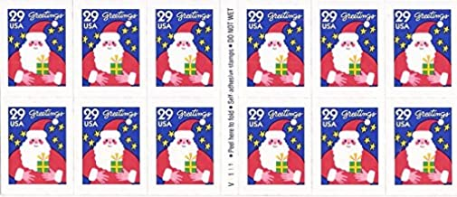 US Stamp - 1994 Santa Claus - Booklet of 12 Stamps - Scott #2873a