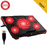 Best Laptop Cooling Pads - ⭐️KLIM Cyclone Laptop Cooling Pad - 5 Fans Review