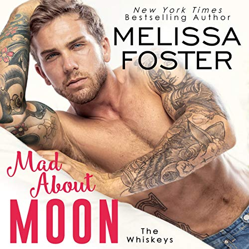 Mad About Moon audiobook cover art