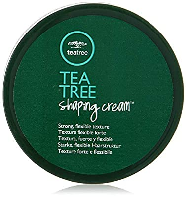 Tea Tree Shaping Cream, Hair Styling Cream, Long-Lasting Hold, Matte Finish, For All Hair Types