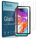 TOCOL [3Pack] for Samsung Galaxy A70 Screen Protector Tempered...