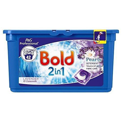 Bold Perlen 2in 1liquidtabs- Lavendel und Kamille–42Wäschen von Lizzy® (1Box)