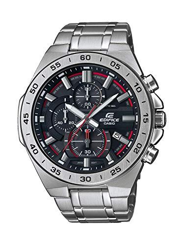 Casio Edifice Herren Massives Edelstahlgehäuse und Edelstahlarmband Uhrenarmband EFR-564D-1AVUEF
