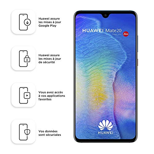 Huawei Mate 20 128GB Handy, blau/lila, Twilight, Android 9.0 (Pie)