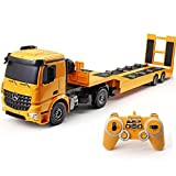 VVPONMEIQS 6 RC Excavator Channel Three-in-One Remote Control Tractor Toy Construction Vehicles Car...