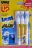 3 x UHU Correction Pen Correttore a Penna