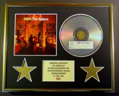 ABBA/CD Display/Limited Edition/COA/The Visitors