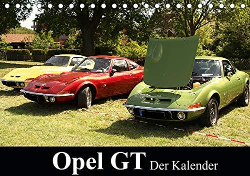 Opel GT Der Kalender (Tischkalender 2021 DIN A5 quer)