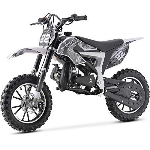 MotoTec 50cc Demon Kids Gas Dirt Bike 2-Stroke Motorcycle Pit