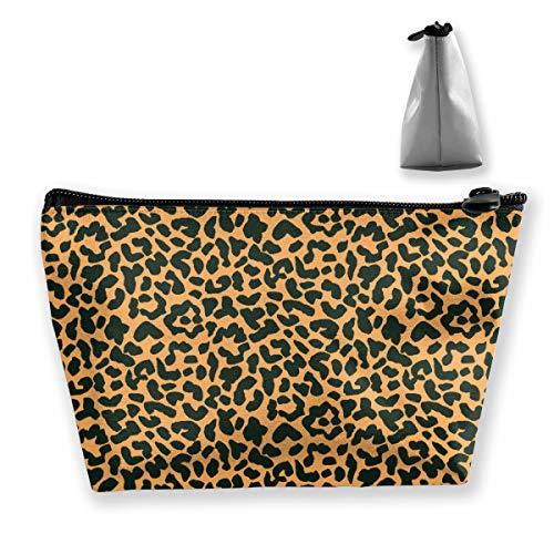 Borsa multiuso funzionale per tatuaggi con stampa leopardo di animali tigre Borsa portaoggetti portatile per donna