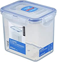 Lock & Lock HPL808 Classic Stackable Airtight Rectangle Food Container, 850ML