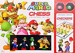Nintendo Super Mario Brothers Combo Chess and Checkers Collectors Edition Board Game (B00915K5RS) | Amazon price tracker / tracking, Amazon price history charts, Amazon price watches, Amazon price drop alerts