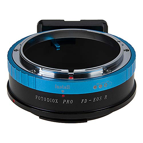 Fotodiox Pro Lens Mount Adapter Compatible with Canon FD & FL 35mm SLR Lenses to Canon RF (EOS-R) Mount Mirrorless Camera Bodies