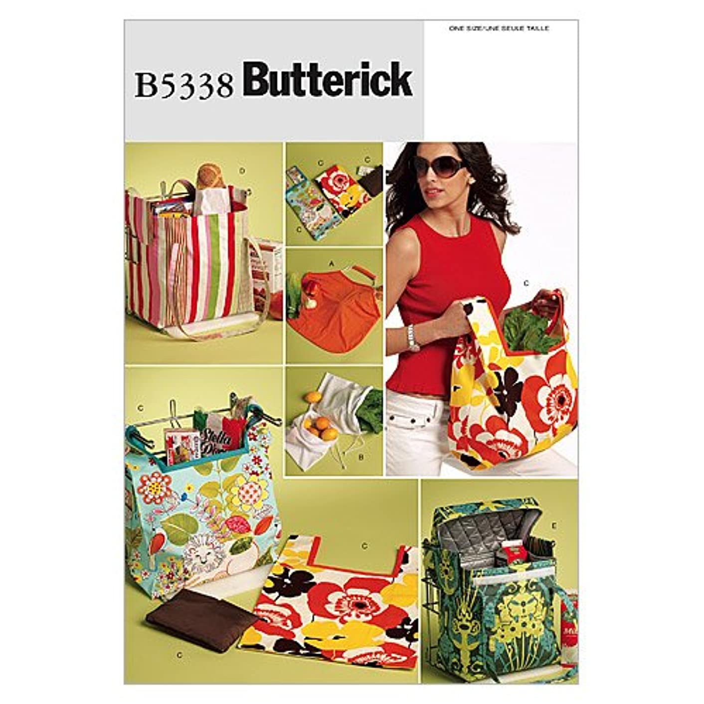 BUTTERICK PATTERNS B5338 Bags, One Size Only