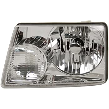 Partslink Number FO2502200 Unknown OE Replacement Ford Crown Victoria//LTD Driver Side Headlight Assembly Composite