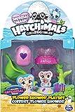 Hatchimals à Collectionner - 6045501 - Jouet enfant - Playset Douche Fleur Saison 5 + 1 figurine
