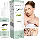 Semi-permanent Magic hair removal spray hair growth inhibitor removal cream and Reducing to Stop Hair Growth,bikini line sensitive private parts whitening cream for Arm/Underarm/Legs 2pcs(green+blue)