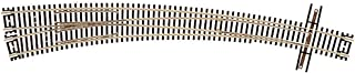 Atlas 2058 N Scale Curved Left-Hand Turnout Code 55 Track