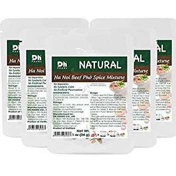 Dh Foods Pho Spice Packet   Beef pho soup seasoning   Comes with spice filter bag   6 packs