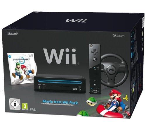 Nintendo Wii Mario Kart Pack noir