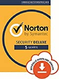 Norton Security Deluxe | 5 Geräte| PC/Mac/iOS/Android | Abonnement mit Amazon
