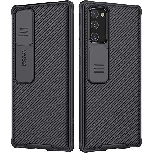 Nillkin Samsung Note20 - Funda fina para Samsung Note20 de 6,4 pulgadas, color negro