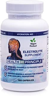 Electrolyte Supplement – for Rapid Rehydration, Muscle Cramp Prevention, Migraine Support, and Neurological Health – for W...