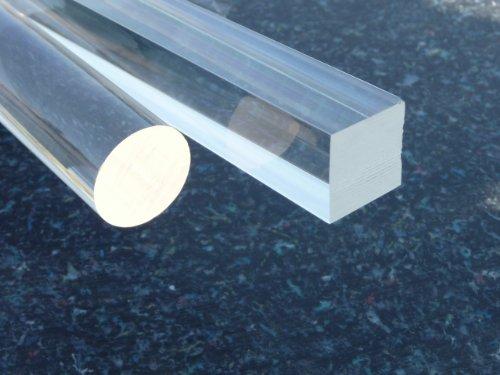 Preisvergleich Produktbild Acrylglas XT Vierkant Stab 10 x 10 glasklar,  poliert,  Lang 500 mm alt-intech®