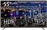 JapanNext 55型4K液晶モニター IPSパネル JN-IPS5500TUHDR