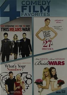 This Means War / 27 Dresses / What's Your Number / Bride Wars Quad Feature