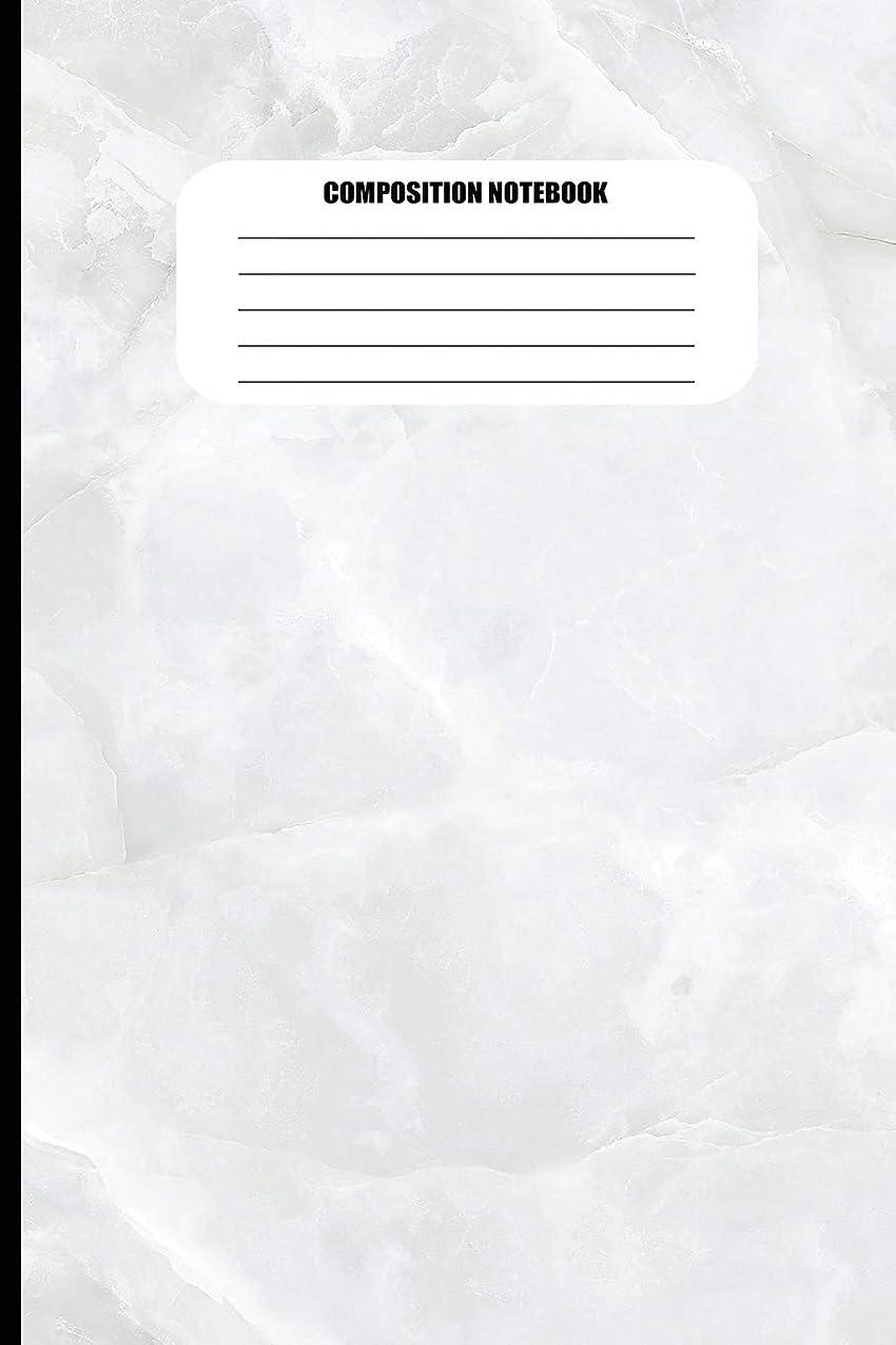上院議員正しく推測Composition Notebook: Abstract Marble Pattern / Cracked Rock (100 Pages, College Ruled)