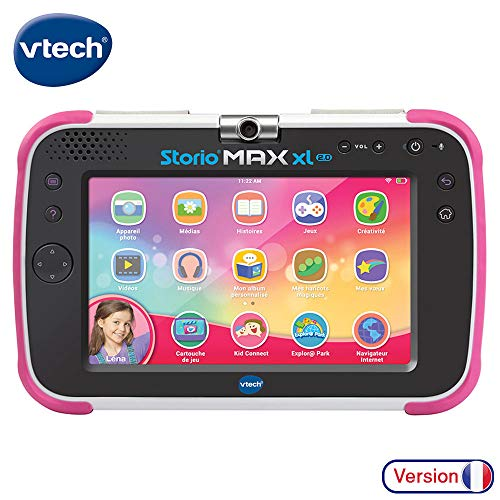 VTech – Tablet Storio Max XL 2.0 pink – 17,8 cm (7 Zoll), 100% Lernhilfe