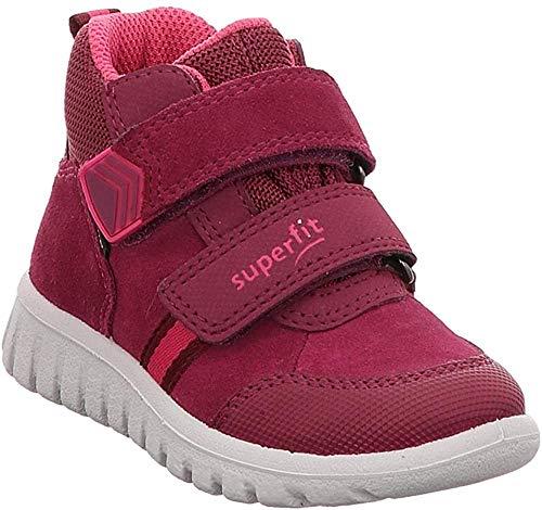 Superfit Baby-Girls Sport7 Mini Gore-Tex-50919950 Sneaker, Rot (Rot/Rosa 50), 24 EU