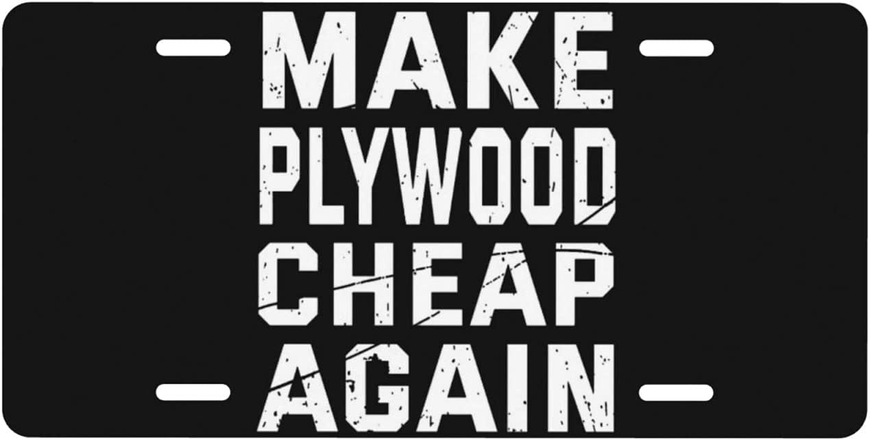 Make Max 85% OFF Plywood Cheap Again Personalized F License Popular standard Plate Auto Truck