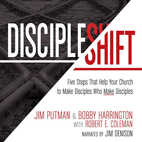 DiscipleShift audiobook cover art