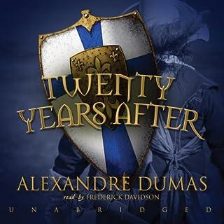 Twenty Years After audiobook cover art