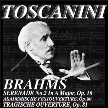 Brahms: Serenade No.2 in A Major, Op 16 - Tragische Overture, Op.81 - Akademische Festouverture, Op.80 (Remastered)