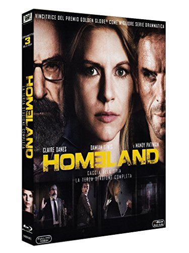 Homeland Stagione 03 [Blu-ray] [IT Import]