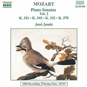 MOZART: Piano Sonatas, Vol. 2 (Piano Sonatas Nos. 9, 12, 16 and 17)