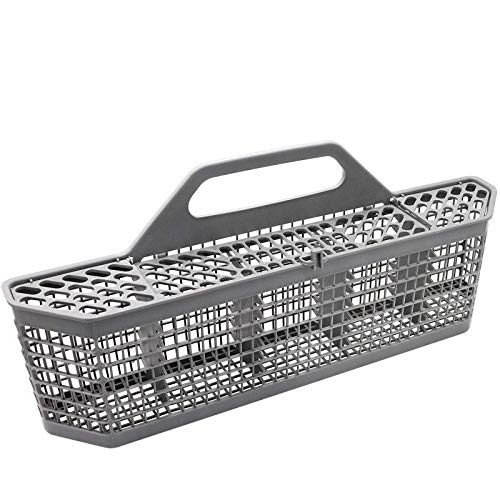 Beaquicy WD28X10128 Dishwasher Silverware Basket (19.7'x3.8'x8.4') - Replacement for GE Dishwasher - Replaces AP3772889 1088673 AH959351