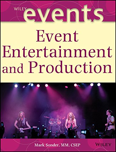 Compare Textbook Prices for Event Entertainment and Production 1 Edition ISBN 9780471263067 by Sonder, Mark