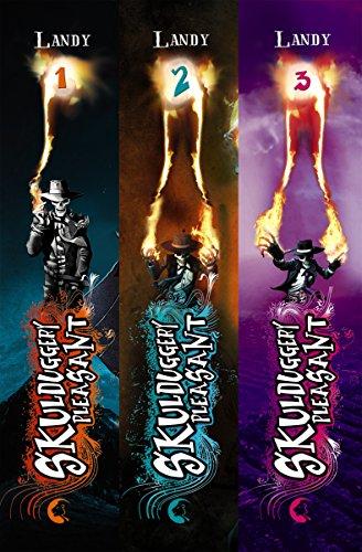 Skulduggery Pleasant: Band 1-3 inklusive eShort: Der Gentleman mit der Feuerhand. Das Groteskerium kehrt zurück. Die Diablerie bittet zum Sterben.
