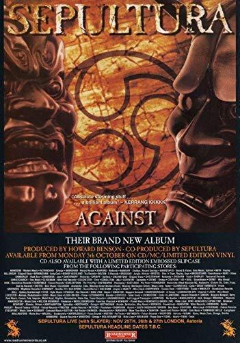 Generic Sepultura gegen Fotodruck Poster The Mediator Chaos a. D. Aria Cavalera 001 (A5-a4-a3) - A3