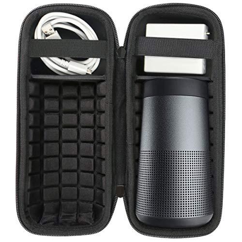 Khanka Case étui pour Bose SoundLink Revolve Enceinte Bluetooth Sac de Voyage Housse. (pour Revolve, Moyen)