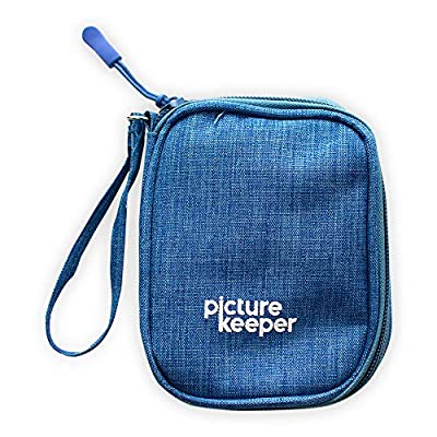 Picture Keeper Case USB Drive 5- Capacity (Blue)