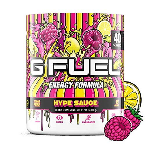 G Fuel Hype Sauce 40 Servings Elite En Buy Online In Gibraltar At Desertcart
