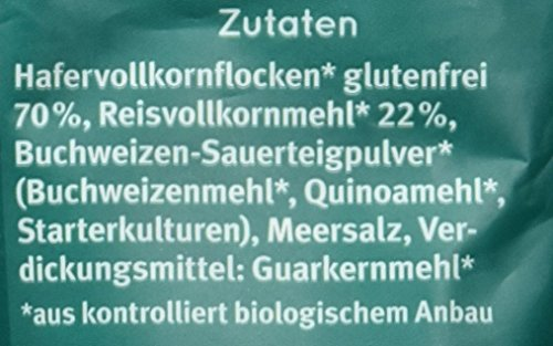 Bauckhof Haferbrot glutenfrei, 3er Pack (3 x 500 g) – Bio - 8